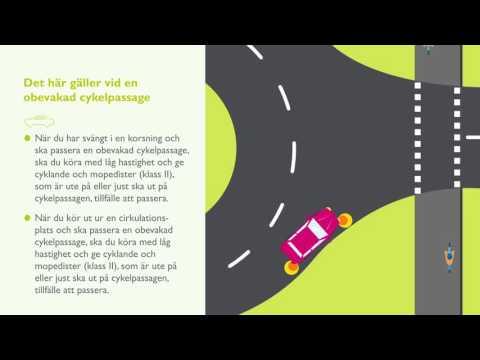 Cykelpassager och cykelöverfarter