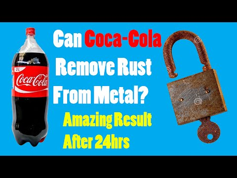 CAN COCA-COLA REMOVE RUST FROM METAL?