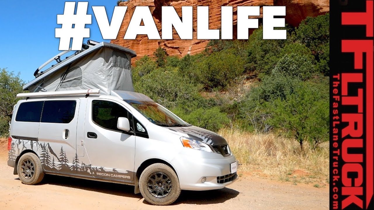 The Nissan Recon Is The Camper Van You Don T Know You Want Youtube