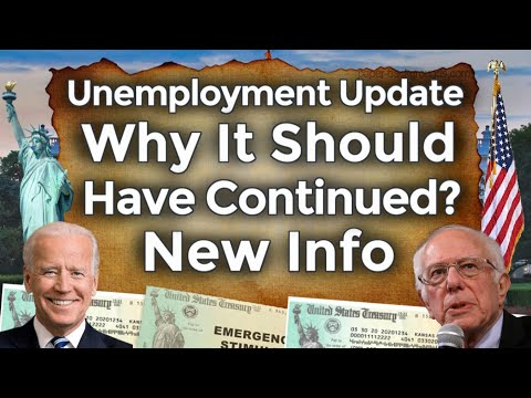 Why Unemployment Should Continue? New Unemployment Claims Great Resignation Jobs Benefits UPDATE