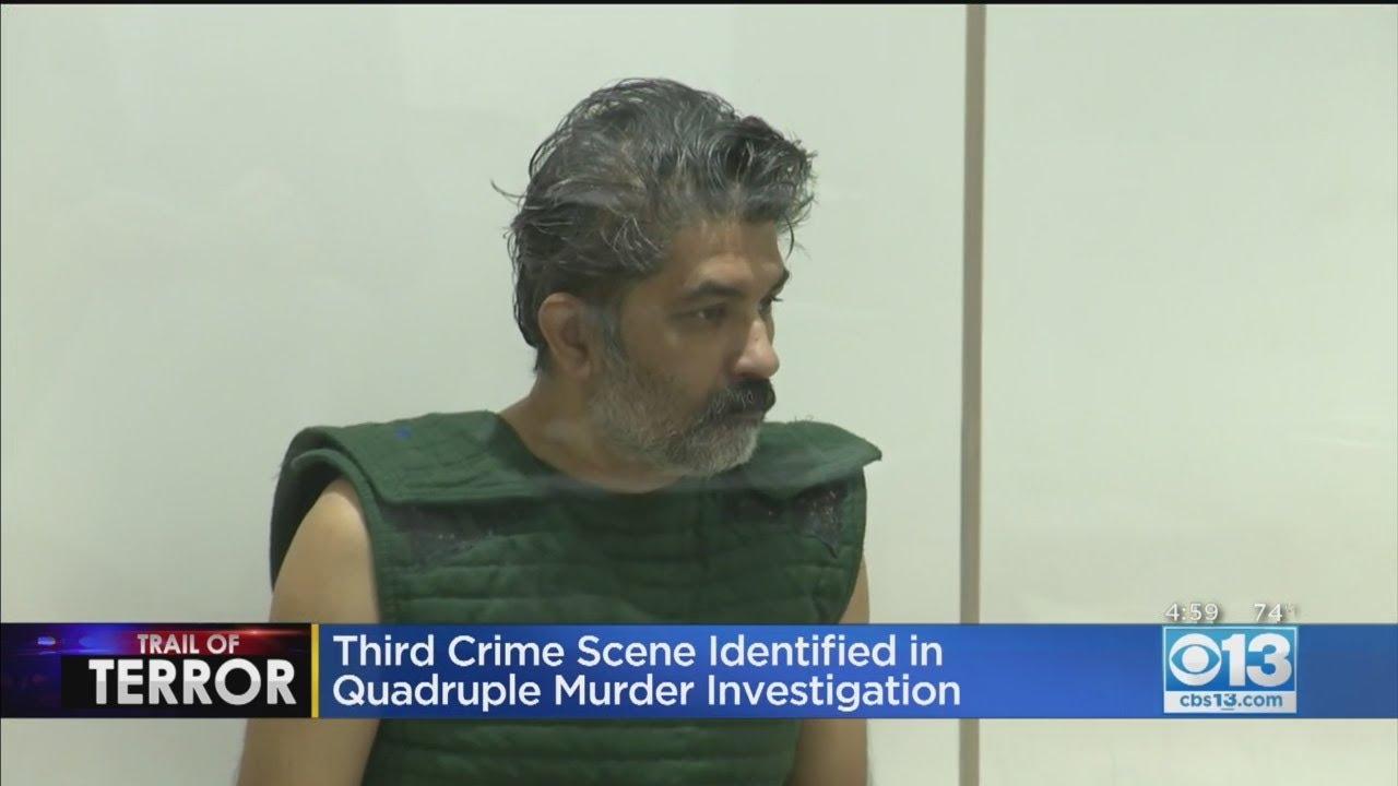 Roseville Police Identify Third Crime Scene In Quadruple Murder Case