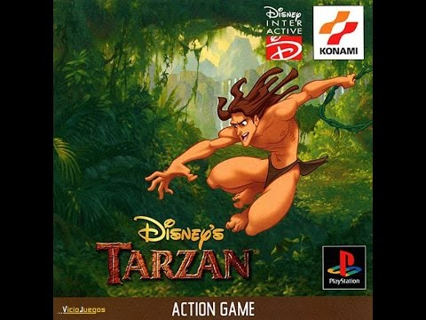 tarzan ps1 gameplay