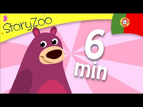 Portuguese compilation BEAR • 6 minutes • Childrens First Words • Portuguese