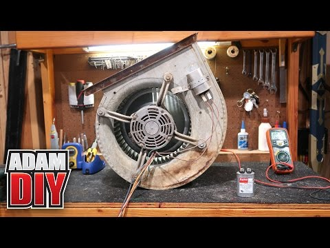How To Replace A Blower Bearing Doovi