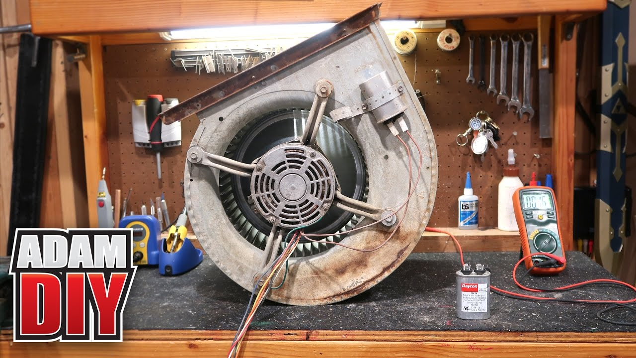 Furnace Blower Repair  loud motor and how to test a