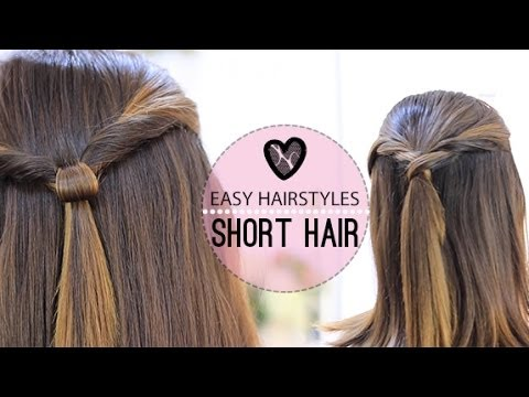 simple hair styles for medium hair easy hairstyles for hair 2860 | hqdefault