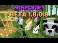 Minecraft 1.14 Preview: Pandas, Bamboo, Cats & Scaffolding (Bedrock Beta 1.8.0.8)