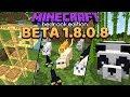 Minecraft 1 14 Preview  Pandas  Bamboo  Cats   Scaffolding  Bedrock Beta 1 8 0 8