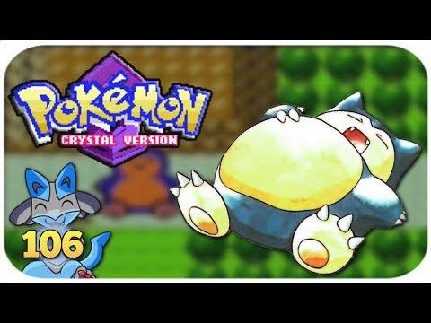 Let's Play Pokémon Kristall #106   Relaxo Aufwecken & Fangen