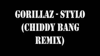 Gorrilaz - Stylo (Chiddy Bang Remix)