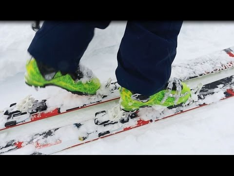 When To Use A Ski Touring Binding's Heel Lifter