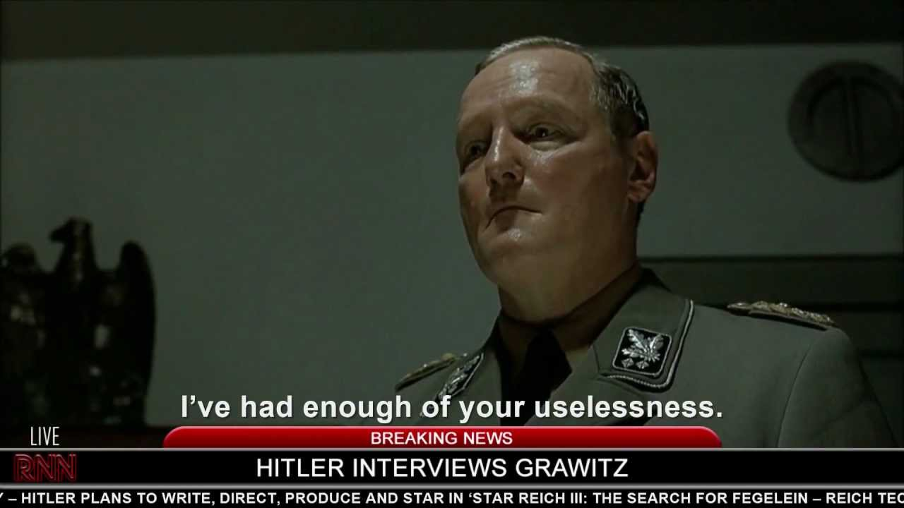 Hitler interviews Grawitz