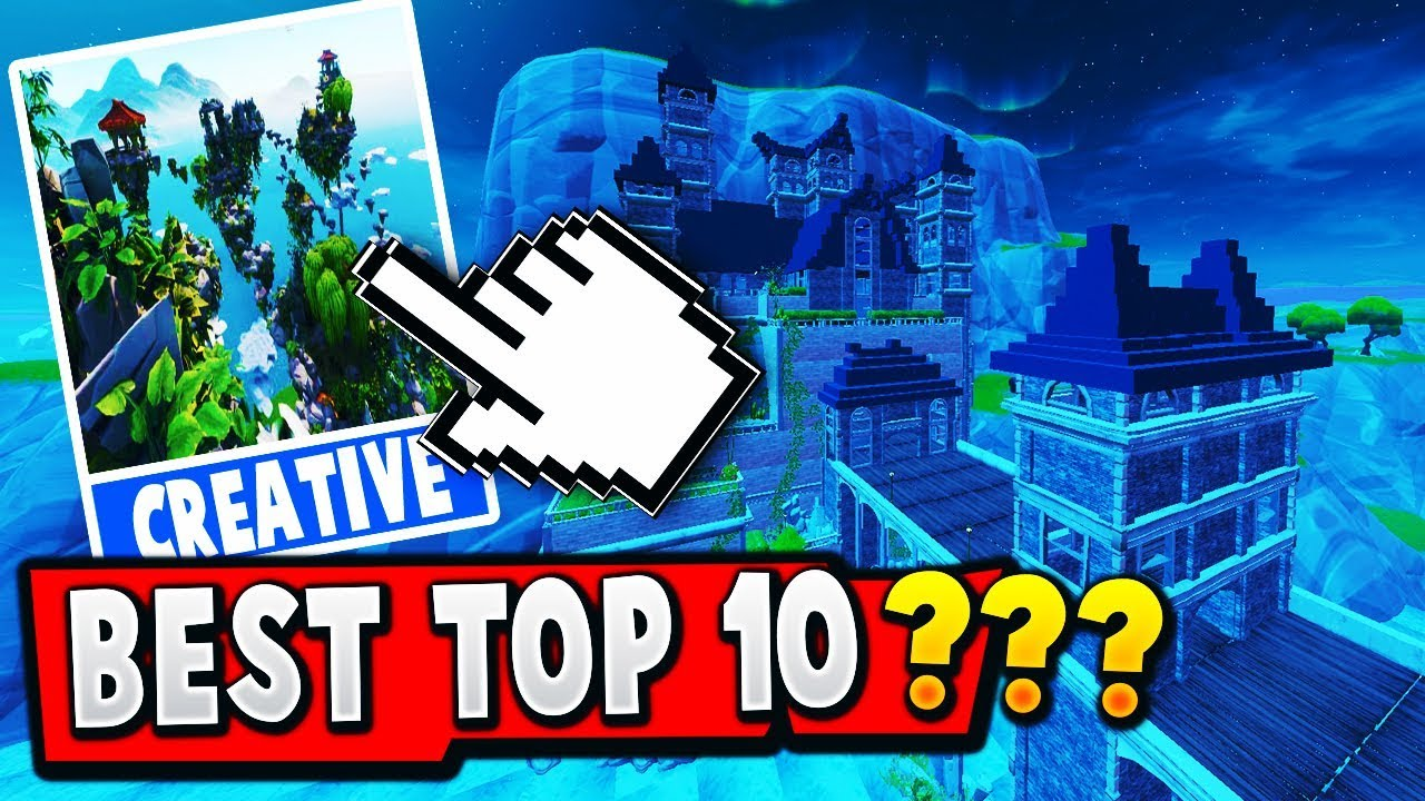 TOP 10 NEW Released BEST Fortnite Creative MAPS (With ...