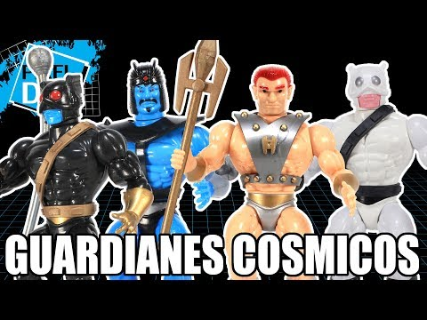 Cosmic Guardians New 5.5 Retro Figures from Argentina Video Review