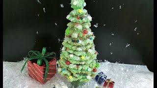 ВКУСНАЯ НОВОГОДНЯЯ ЁЛОЧКА , Украшение  стола и сюрприз  для детей. КОНКУРС. Christmas tree.