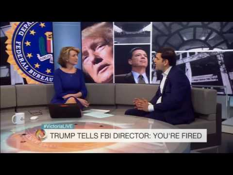 Cover up allegations as Donald Trump fires FBI director James Comey