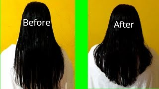 Very Easy deep U hair cut.