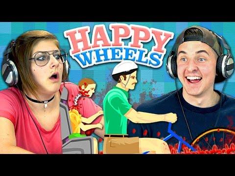 HAPPY WHEELS #1 (Teens React: Gaming)