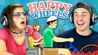 HAPPY WHEELS #1 (Teens React: Gaming)
