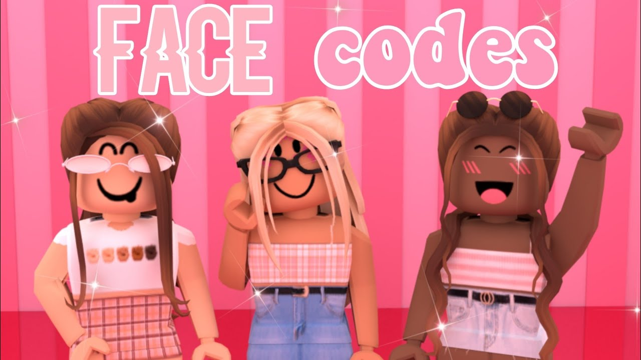Face Codes For Bloxburg Youtube