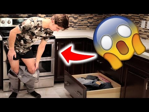 GETTING UNDRESSED!! *in reverse*