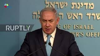 Israel: Iran attempting to organise 'terrorist' attacks inside Israel, says Netanyahu