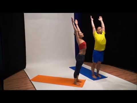Instructional video for YOGA Flash Mob 2014