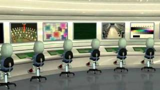 3d animation on the theme how computers work the cpu