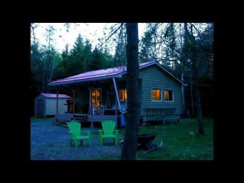 40 Acres + Log Cabin Near Merrickville Ontario, Canada $144,900