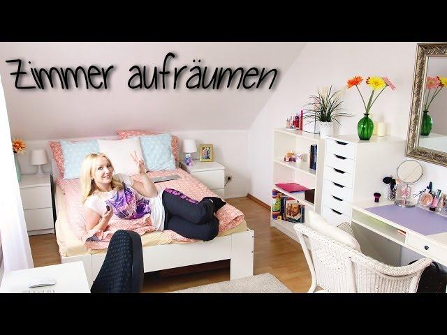 ZIMMER AUFRÄUMEN - 10 Tipps - Meine Routine! - YouTube