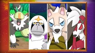 UK: Version-exclusive Pokémon and New Features Revealed in Pokémon Sun and Pokémon Moon!