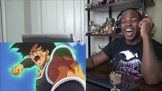 Dragon Ball Super: Broly Trailer 2 English Subbed CC HD - REACTION!!!