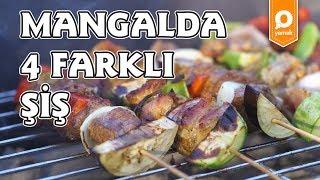 Mangalda 4 Farklı Şiş Tarifi - Onedio Yemek - Tek Malzeme Çok Tarif