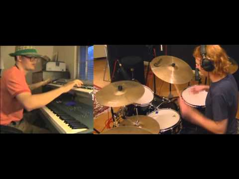 Throwing Fire - Ronald Jenkees + Live Drums