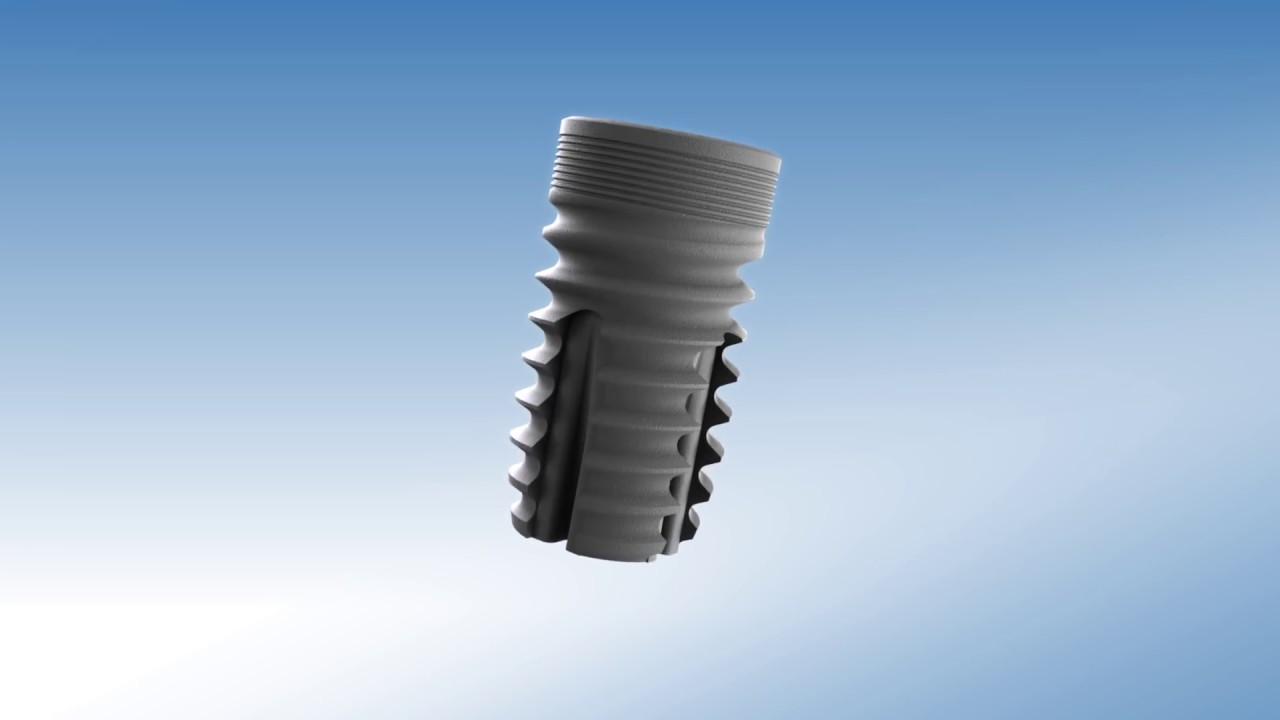 The Pyramidion short dental implant