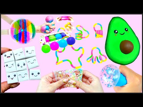 7 DIY – Super Easy Fidget Toys Ideas – You will be SURPRISED- Avocado pop it and more…