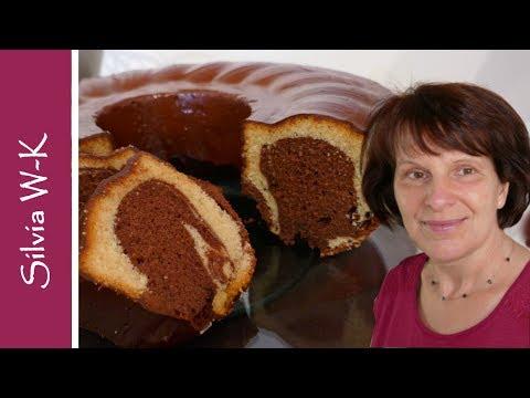 Klassischer Marmorkuchen - jeder kann diesen Kuchen auf Anhieb