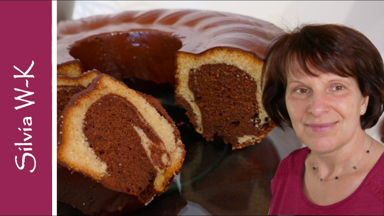 Klassischer Marmorkuchen Jeder Kann Diesen Kuchen Auf Anhieb Youtube