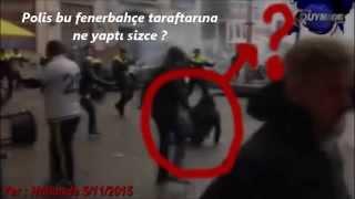 Fenerbahçe taraftarına Hollanda polisinden insanlık dersi ...