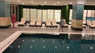 ШИКАРНЫЙ отдых в ТУРЦИИ Granada Luxury Beach - Бассейн внутри отеля  Июль 2019
