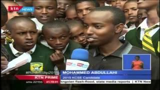 Kenyans celebrate the KCSE results 2015