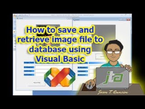 How to save and retrieve image file to database using VB6. (Taglish)