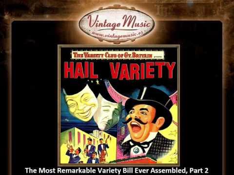 GEORGE ELRICK CD Vintage Dance Orchestra. Hail Variety club of Gr. Britain , Part 1 & Part 2