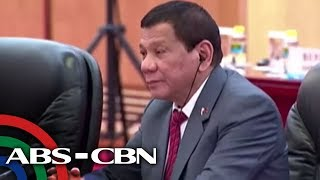 Duterte: South China Sea 'already in China's possession'
