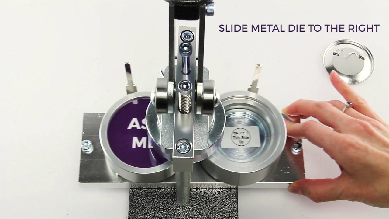 "Refill Button Parts 2-1//4/""; 100-Count Neil Mini Model Button Maker Parts"