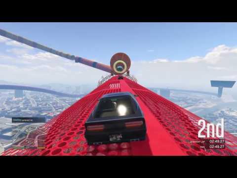 Grand Theft Auto V Online Race