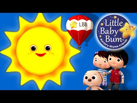 Mr Sun, Sun, Mister Golden Sun! | Nursery Rhymes | by LittleBabyBum!HD Version
