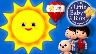 Mr Sun, Sun, Mister Golden Sun! | Nursery Rhymes | by LittleBabyBum HD Version