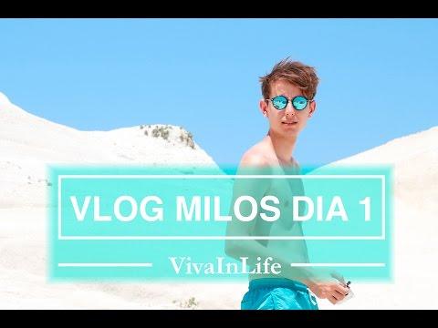 TRAVEL VLOG MILOS | DIA 1| VivaInLife