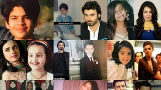 Pakistani Celebrities Childhood Pictures